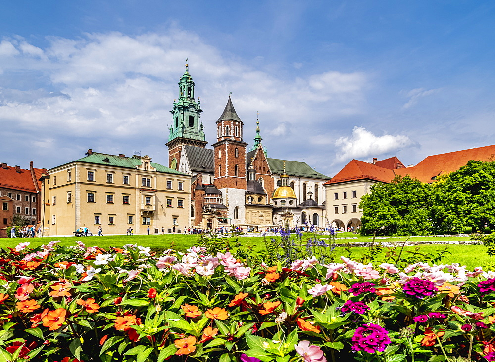 Wawel Cathedral, Cracow (Krakow), UNESCO World Heritage Site, Lesser Poland Voivodeship, Poland, Europe