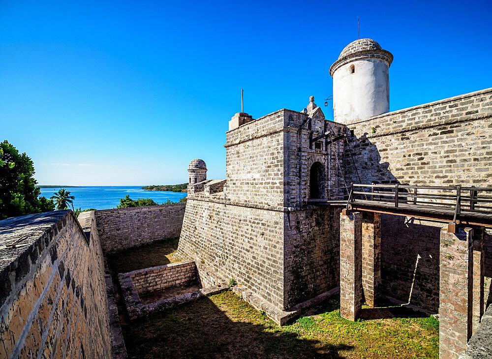 Castillo de Jagua, Jagua Fortress, Cienfuegos, Cienfuegos Province, Cuba