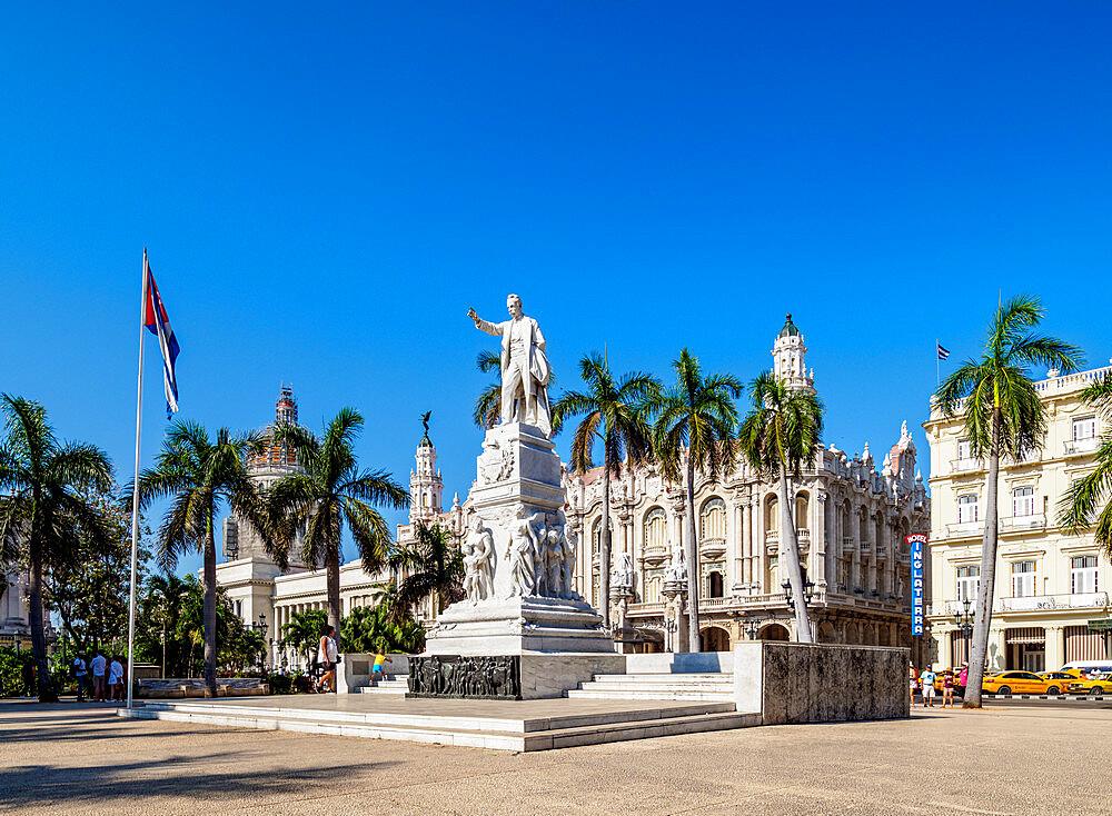 Parque Central, Central Park, La Habana Vieja, Havana, La Habana Province, Cuba