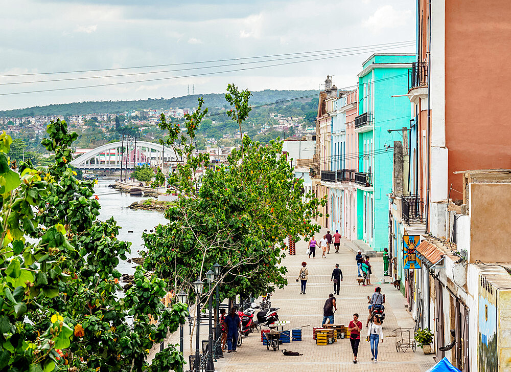 Promenade by the San Juan River, Matanzas, Matanzas Province, Cuba, West Indies, Caribbean, Central America