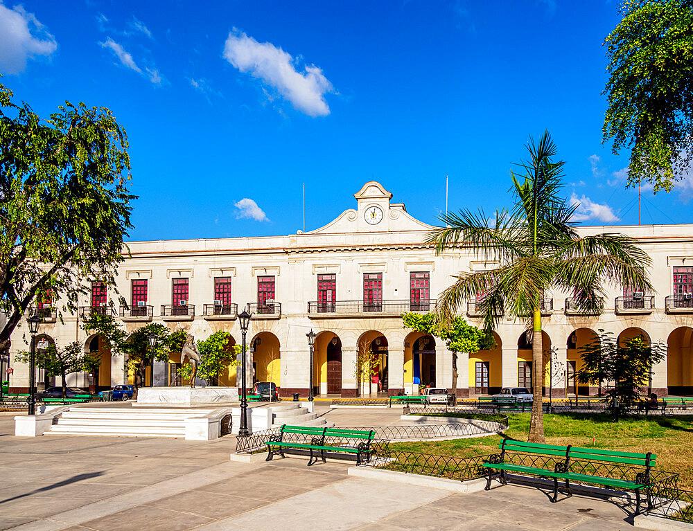 Palacio de Gobierno, Libertad Square, Matanzas, Matanzas Province, Cuba, West Indies, Caribbean, Central America - 1245-1879