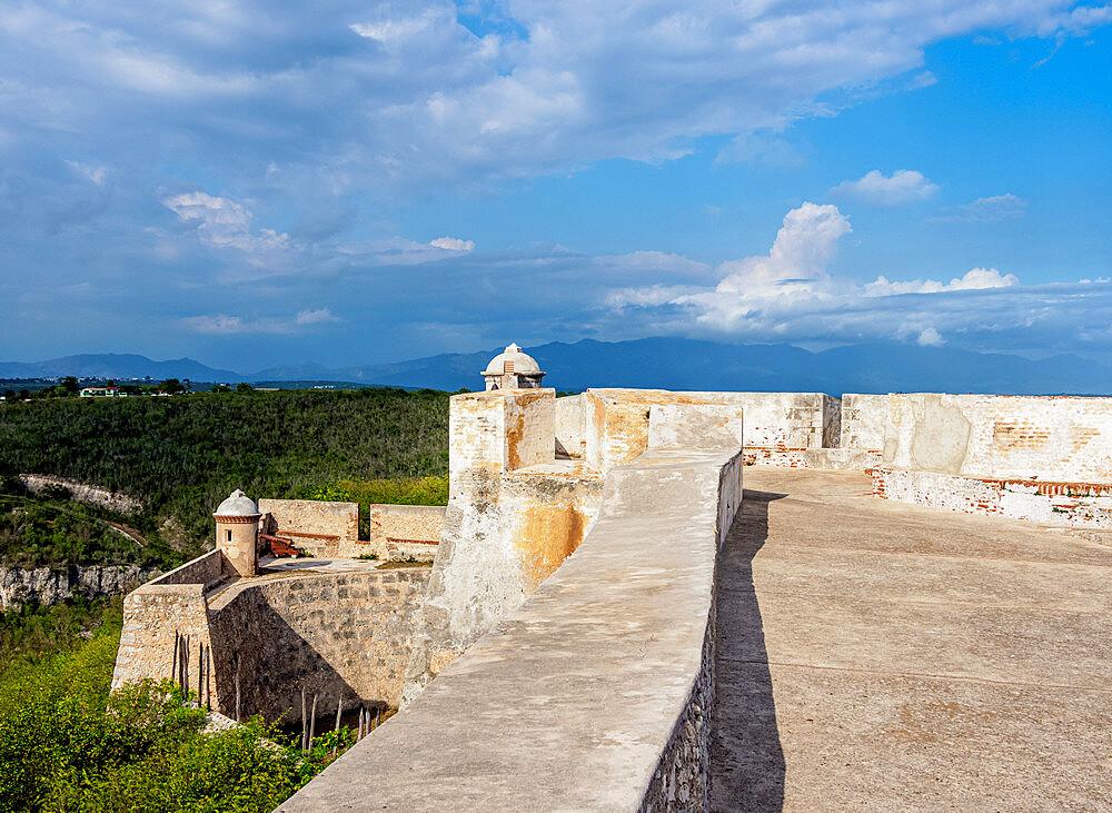 San Pedro de la Roca Castle, UNESCO World Heritage Site, Santiago de Cuba, Santiago de Cuba Province, Cuba