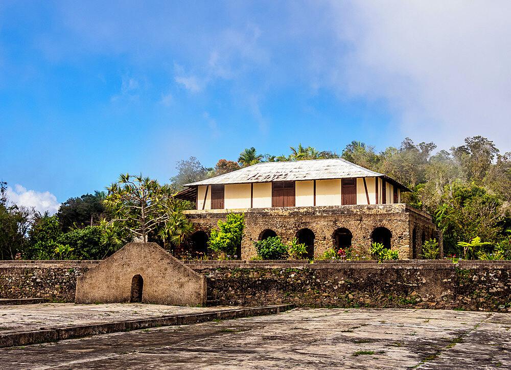 Cafetal La Isabelica, UNESCO World Heritage Site, La Gran Piedra, Santiago de Cuba Province, Cuba