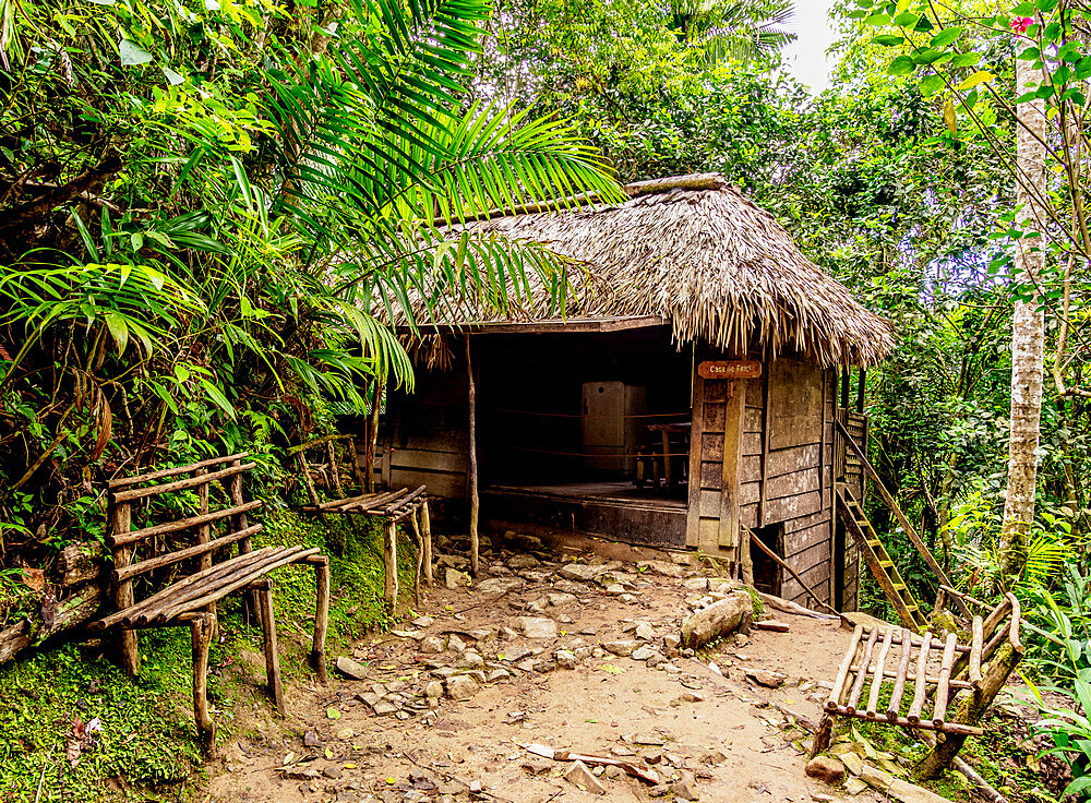 Casa de Fidel, Fidel Castro's House, Comandancia de la Plata, Sierra Maestra, Granma Province, Cuba