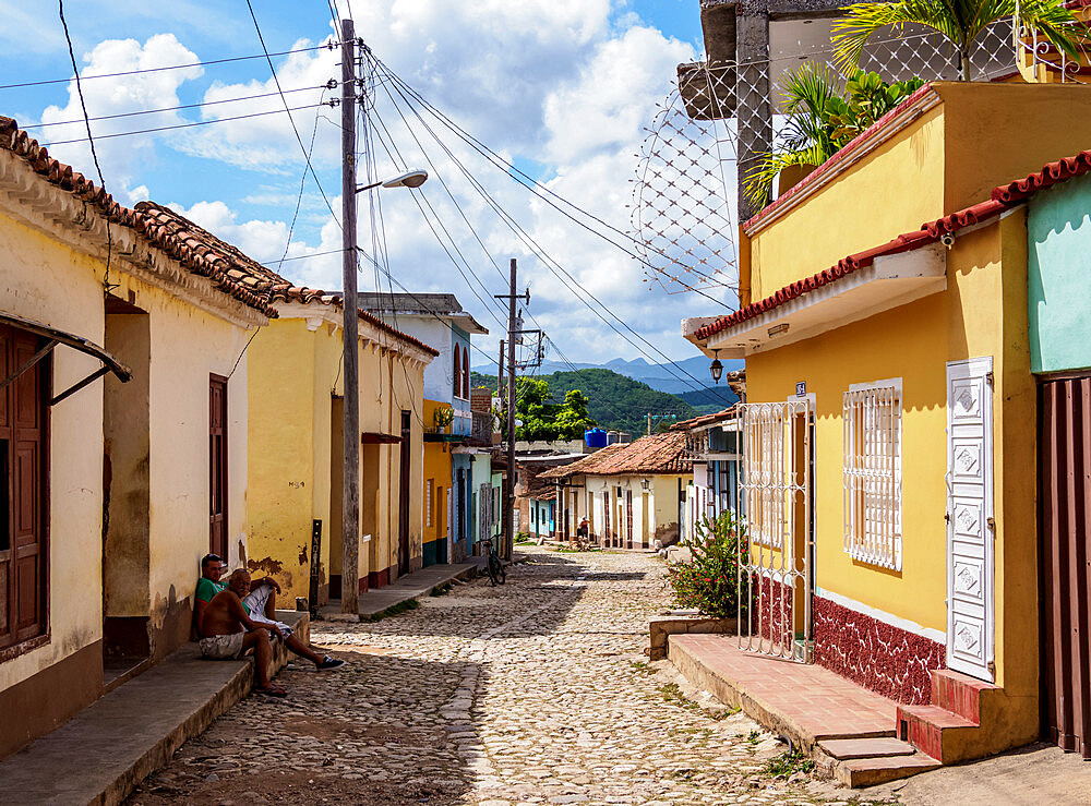 Street of Trinidad, Sancti Spiritus Province, Cuba, West Indies, Caribbean, Central America - 1245-1916