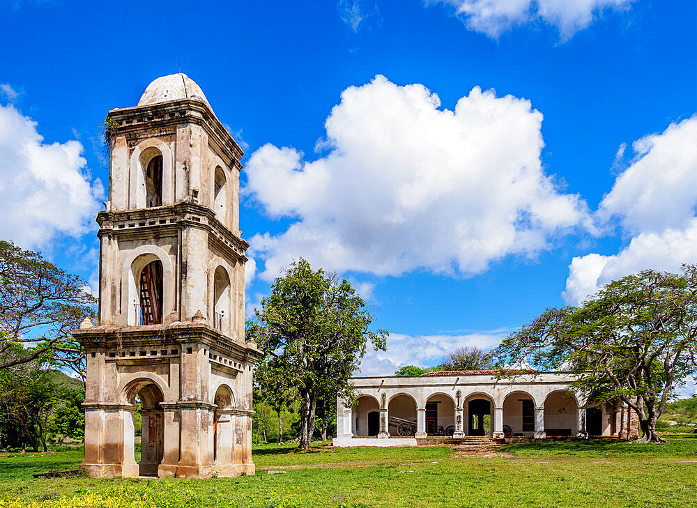 San Isidro de los Destiladeros Estate, Valle de los Ingenios, UNESCO World Heritage Site, Sancti Spiritus Province, Cuba, West Indies, Caribbean, Central America