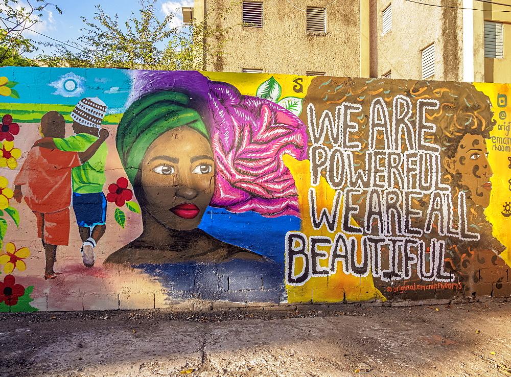 Barry Street Graffiti, Downtown, Kingston, Kingston Parish, Jamaica, West Indies, Caribbean, Central America