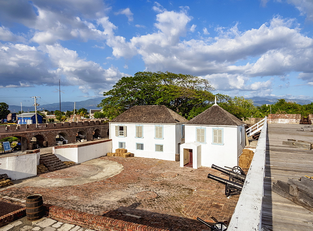 Fort Charles, elevated view, Port Royal, Kingston Parish, Jamaica