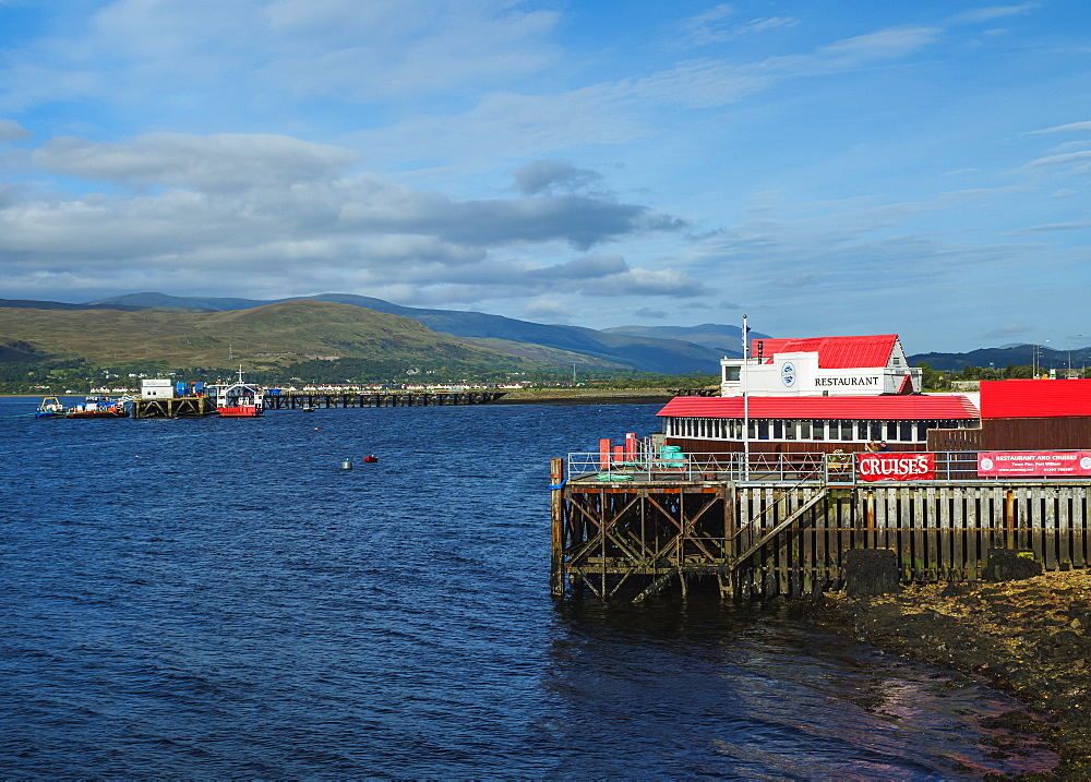 View of Loch Linnhe, Fort William, Highlands, Scotland, United Kingdom, Europe