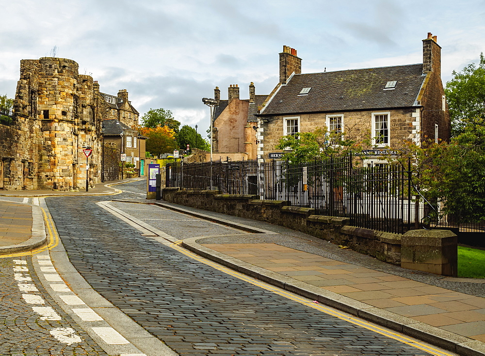 View of the Old Town, Stirling, Scotland, United Kingdom, Europe