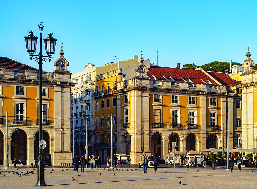 Commerce Square (Praca do Comercio), Lisbon, Portugal, Europe