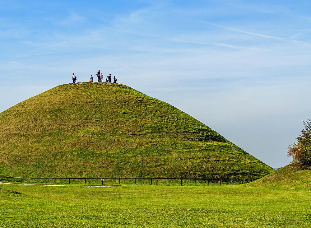 Krakus Mound, Podgorze District, Cracow, Lesser Poland Voivodeship, Poland, Europe