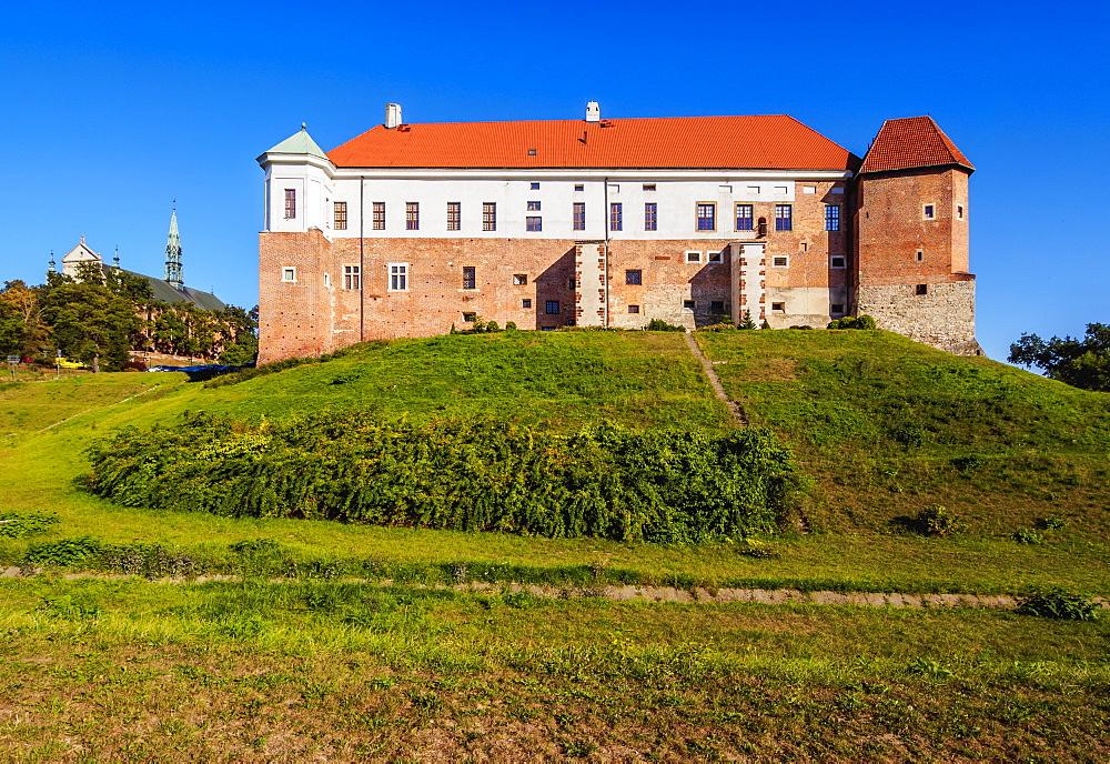 Sandomierz Castle, Swietokrzyskie Voivodeship, Poland, Europe