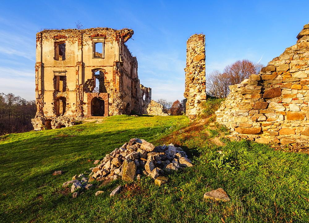 Bodzentyn Castle, Kielce County, Swietokrzyskie Voivodeship, Poland, Europe