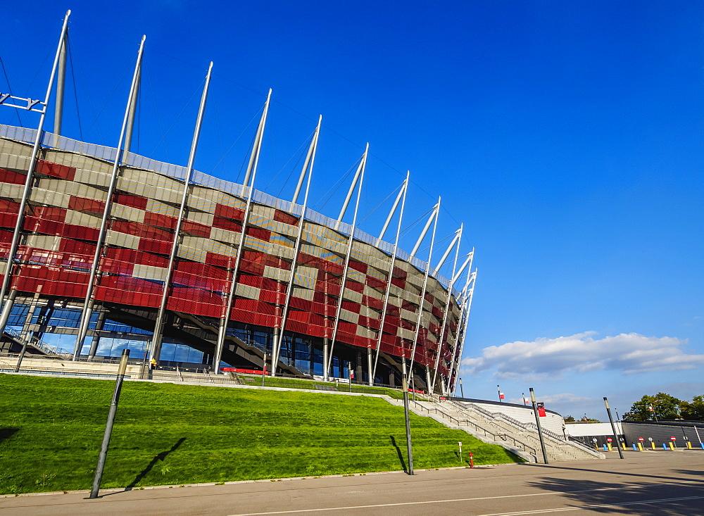 Poland, Masovian Voivodeship, Warsaw, National Stadium
