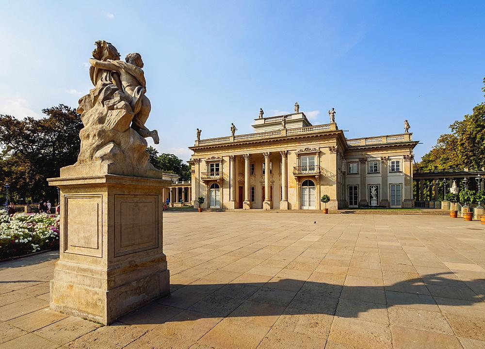 Poland, Masovian Voivodeship, Warsaw, Royal Baths Park, Lazienki Palace