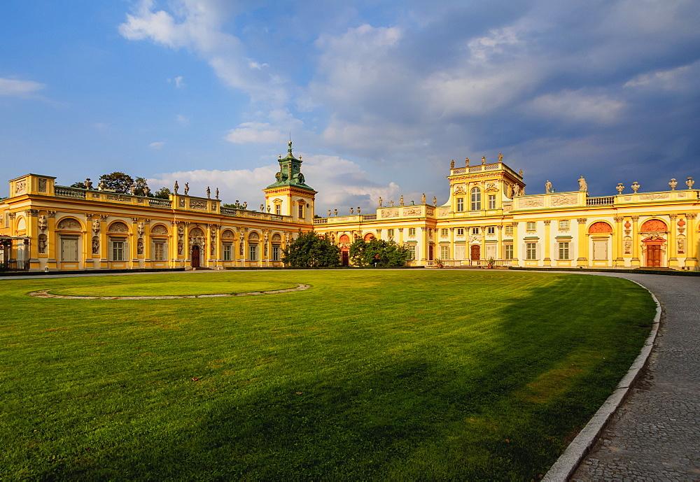 Poland, Masovian Voivodeship, Warsaw, Wilanow Palace