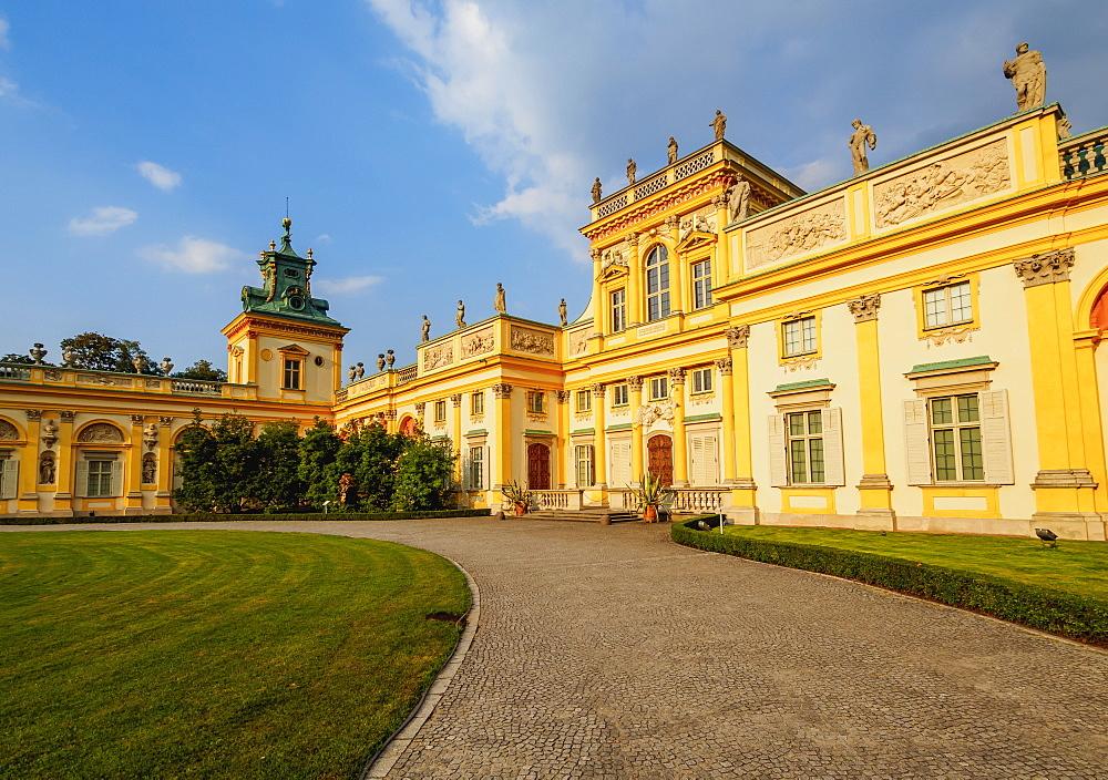 Wilanow Palace, Warsaw, Masovian Voivodeship, Poland, Europe
