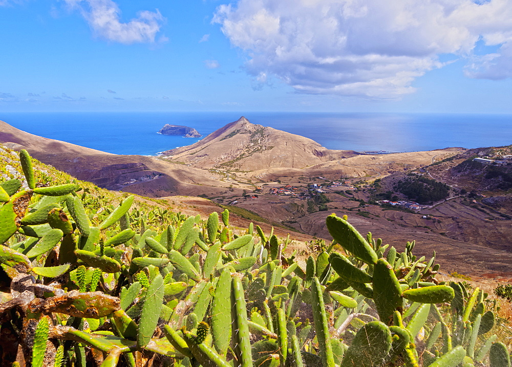 Landscape of the Porto Santo Island, Madeira Islands, Portugal, Atlantic, Europe