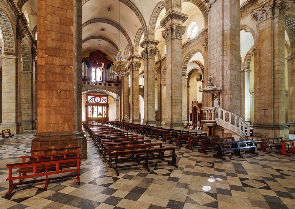 Cathedral Basilica of Our Lady of Peace, interior, La Paz, Bolivia
