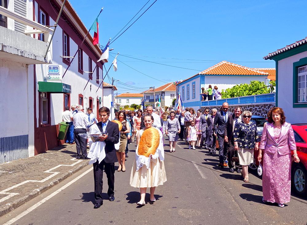 Holy Spirit Festivities, Vila Nova, Terceira Island, Azores, Portugal, Atlantic, Europe
