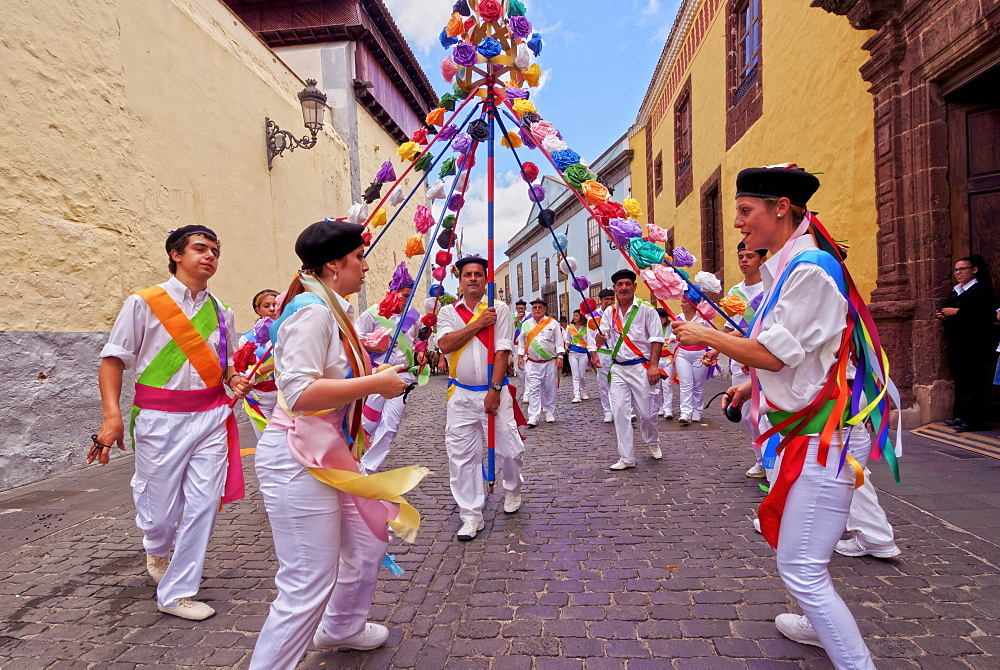 Romeria de San Benito de Abad, traditional street party, San Cristobal de La Laguna, Tenerife Island, Canary Islands, Spain, Europe