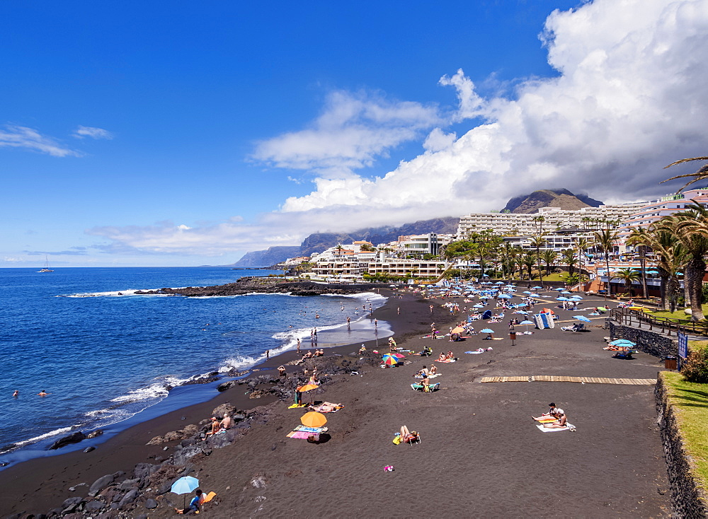 Beach in Puerto de Santiago, Tenerife Island, Canary Islands, Spain, Atlantic, Europe