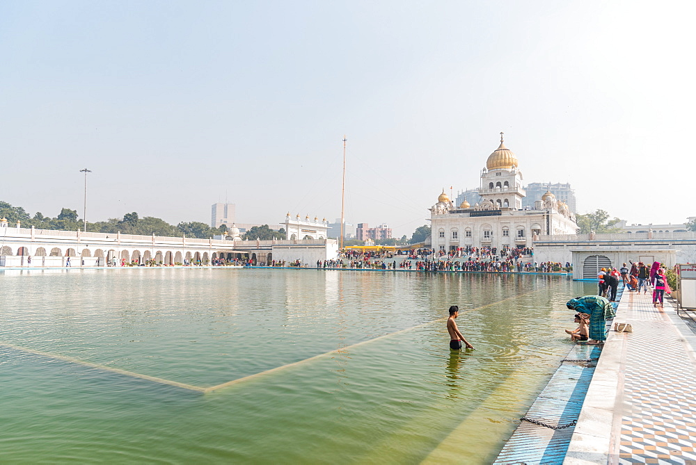 Bangla Sahib Gurudwara, New Delhi, India, Asia