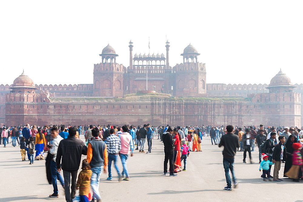 The Red Fort, UNESCO World Heritage Site, Old Delhi, India, Asia