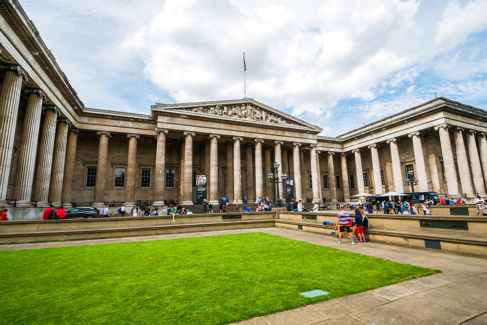 The British Museum, Bloomsbury, London, England, United Kingdom, Europe - 1247-199