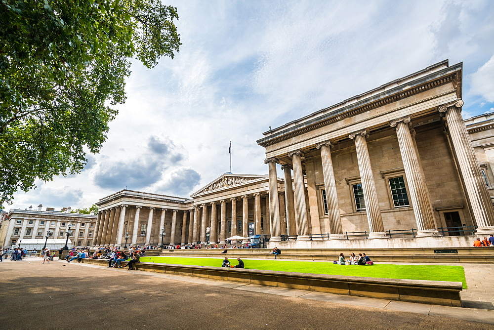 The British Museum, Bloomsbury, London, England, United Kingdom, Europe - 1247-200
