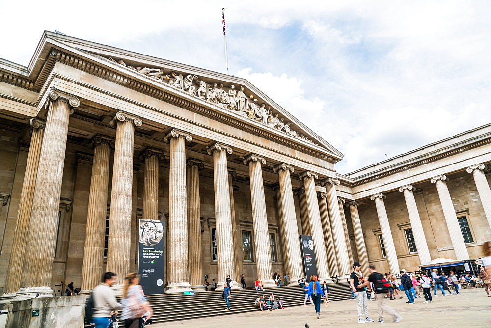 The British Museum, Bloomsbury, London, England, United Kingdom, Europe - 1247-201