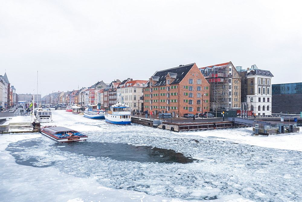 Frozen Mindeankeret, Copenhagen, Denmark, Scandinavia, Europe - 1247-61