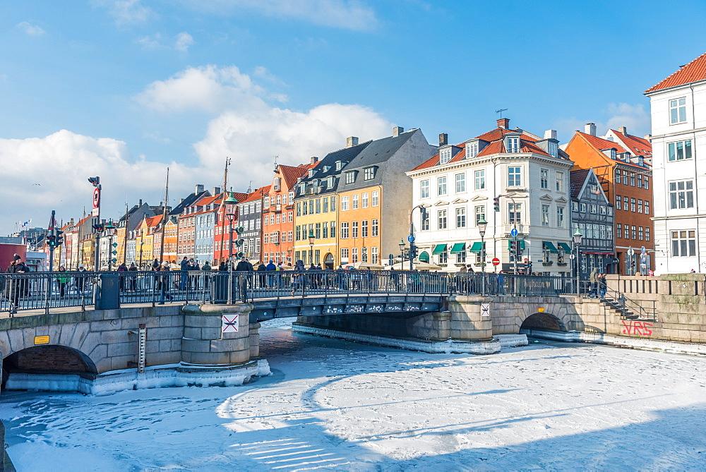 Frozen Mindeankeret, Copenhagen, Denmark, Scandinavia, Europe - 1247-62