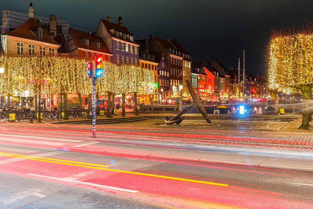 Long exposure of Anchor and Mindeankeret, Copenhagen, Denmark, Scandinavia, Europe - 1247-63