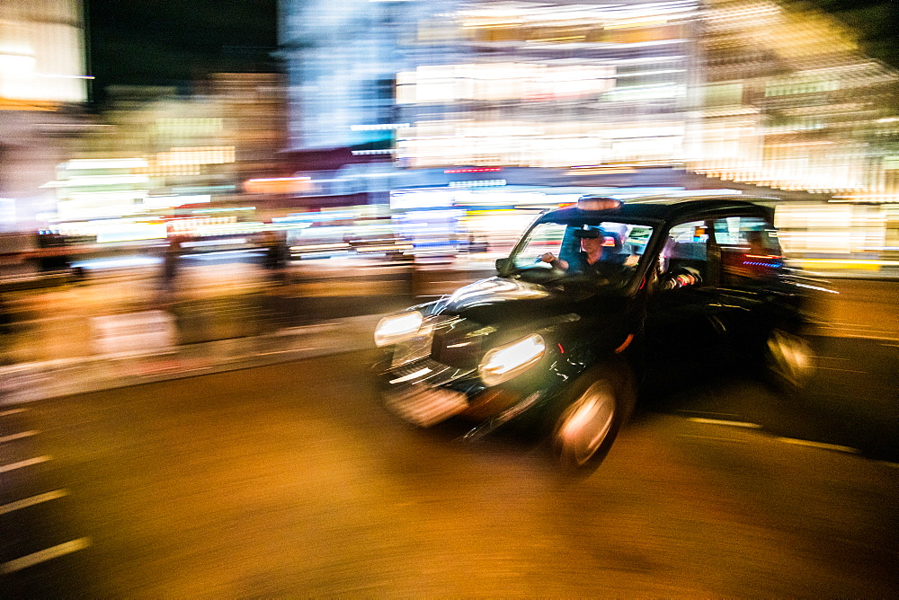 Black cab, London, England - 1247-86