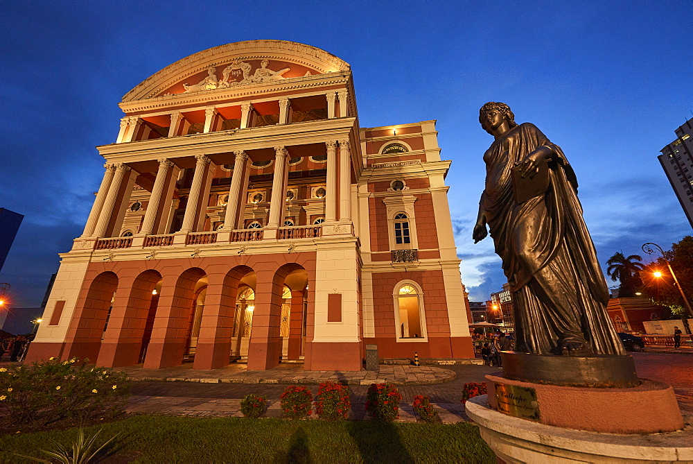 Teatro Amazonas in Manaus, Brazil, South America