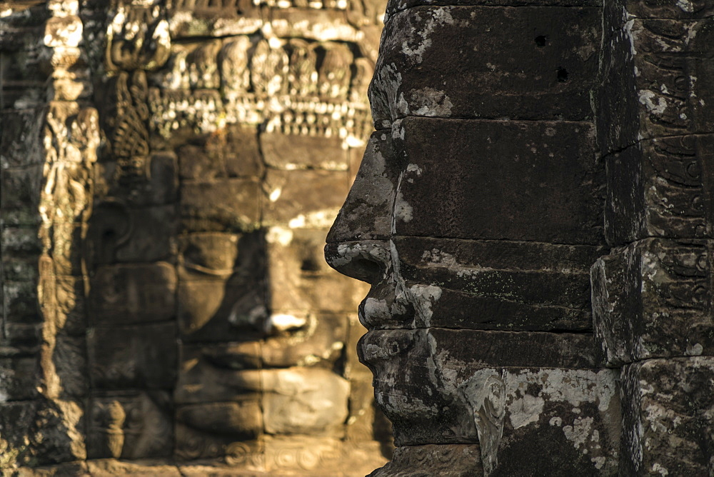 Bayon Temple, Angkor, UNESCO World Heritage Site, Siem Reap, Cambodia, Indochina, Southeast Asia, Asia