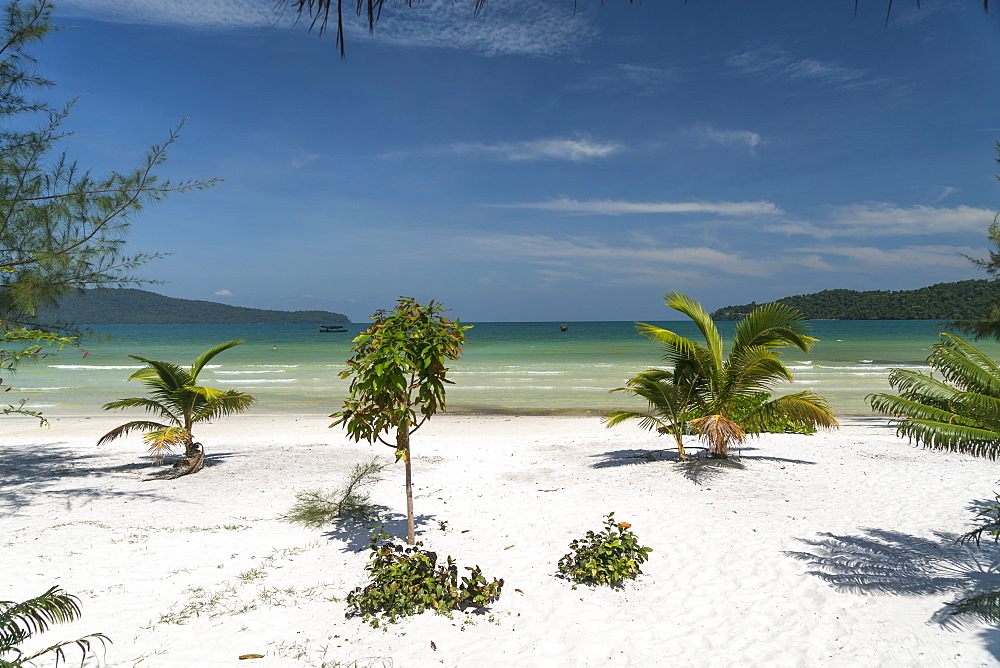 Beach of Koh Rong Samloem island, Cambodia, Indochina, Southeast Asia, Asia