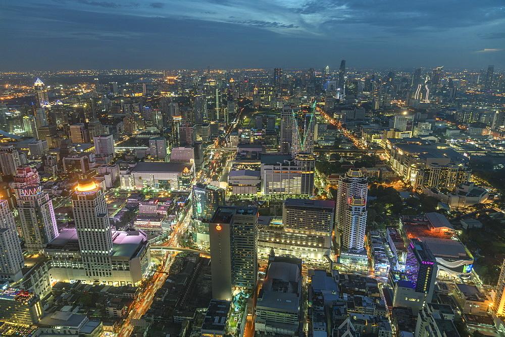 Bangkok cityscape, Thailand, Southeast Asia, Asia - 1250-6