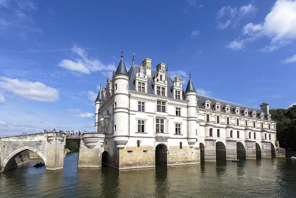 Chenonceau castle. Chenonceaux, Indre-et-Loire, France.