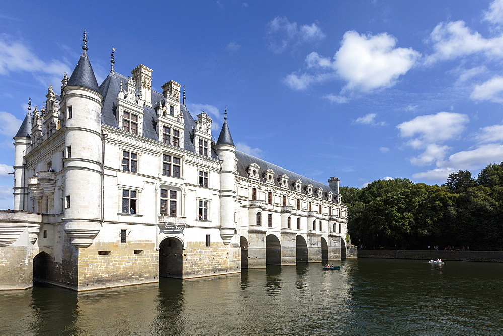 Chenonceau castle, UNESCO World Heritage Site, Chenonceaux, Indre-et-Loire, Centre, France, Europe