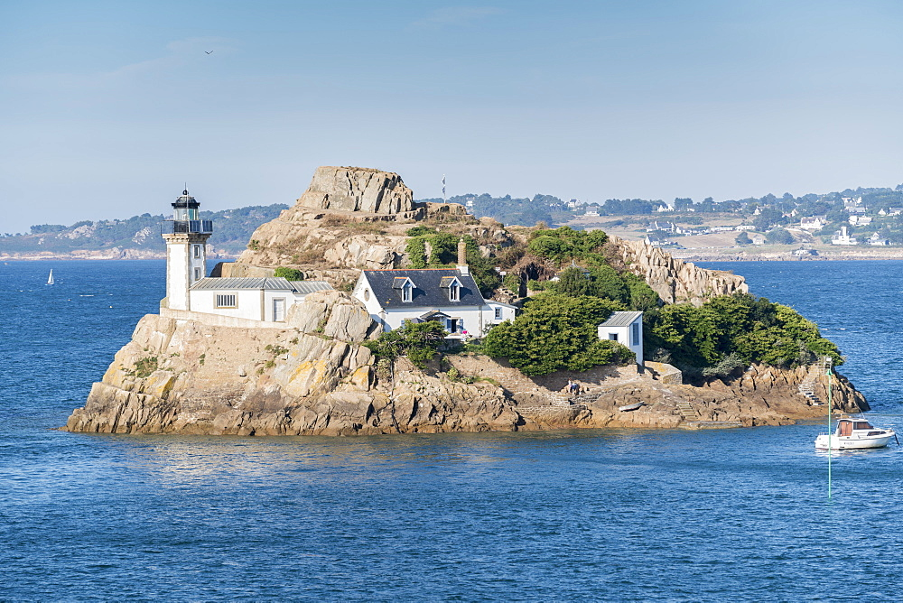 Ile Louet, Carantec, Finistere, Brittany, France, Europe