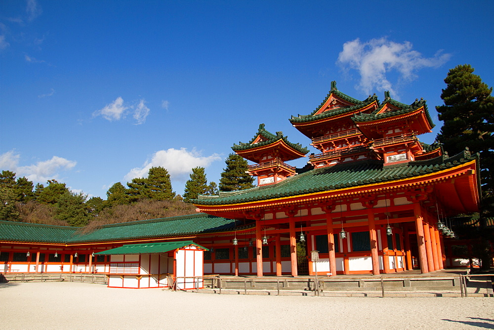 The Heian Jingu Shrine of Sakyo-ku, Kyoto, Japan, Asia - 1262-107