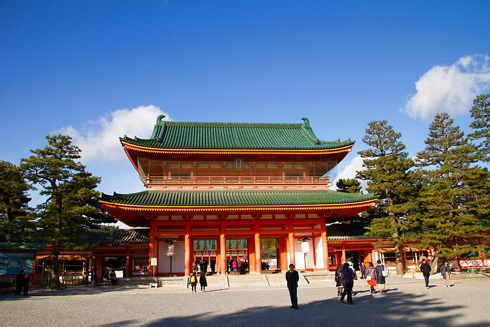 The Heian Jingu Shrine of Sakyo-ku, Kyoto, Japan, Asia - 1262-108