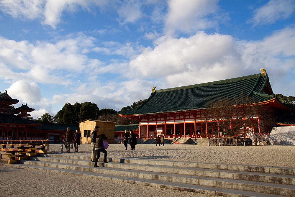 The Heian Jingu Shrine of Sakyo-ku, Kyoto, Japan, Asia - 1262-109
