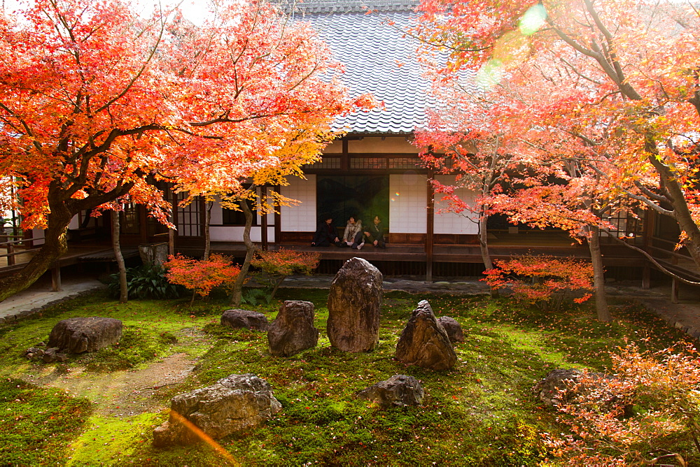 Kennin-Ji Temple, Kyoto, Japan, Asia