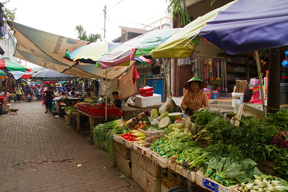 The food markets of Jakarta, Java, Indonesia, Southeast Asia, Asia - 1262-142