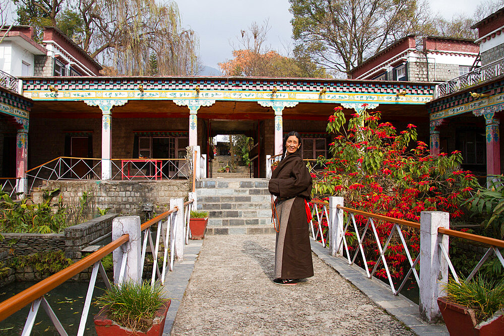 The Norbulingka Tibetan Institute of Tibetan Arts and Culture, Dharamsala, Himachal Pradesh, India, Asia - 1262-169