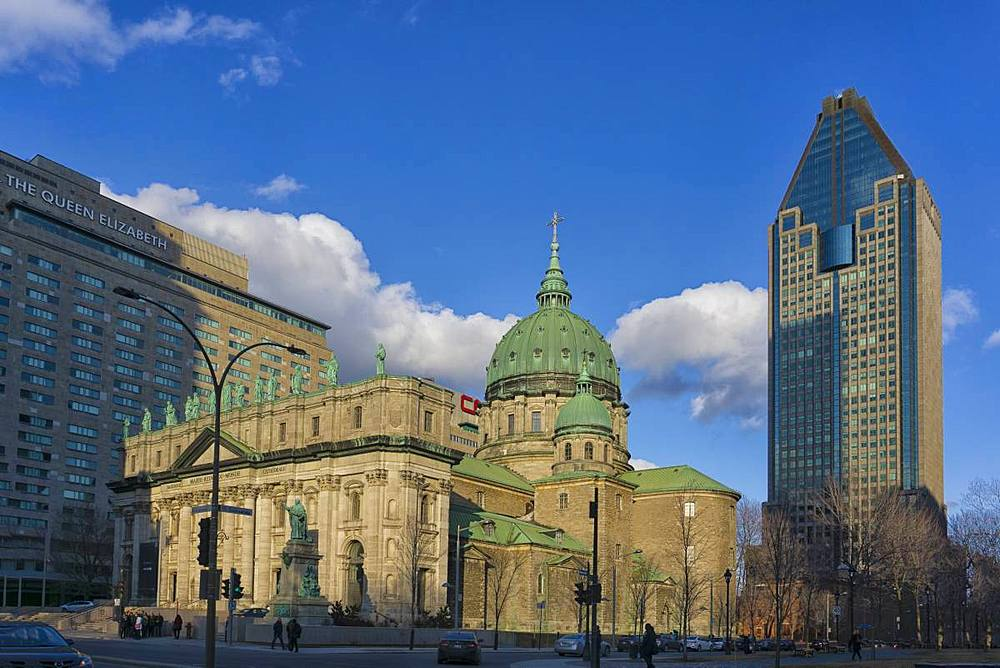 Mary Queen of the World Cathedral, Montreal, Quebec, Canada, North America